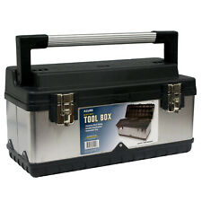 Allied Heavy Duty Tool Box Stainless Steel Siding With Removable Tray 69102