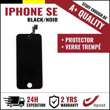 A+ LCD TOUCH SCREEN SCHERM ÉCRAN BLACK NOIR & VERRE TREMPÉ FOR IPHONE SE/5S