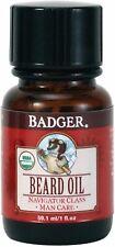 Beard Oil, Badger, 1 oz