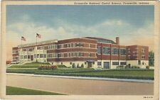 1939 postcard - Evansville National Guard Armory, Evansville, Indiana.