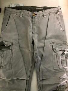 Pantaloni Donna Mason's Colore Grigio Con Disegno Taglia 50