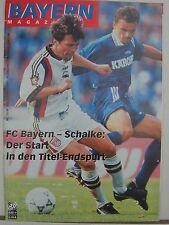 FCB Bayern München Magazin 48. Jhg. Nr.: 12 Schalke 04 15.3.1997