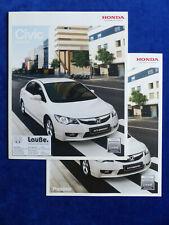 Honda Civic Hybrid MJ 2009 - Prospekt Brochure + Preisliste 03.2009
