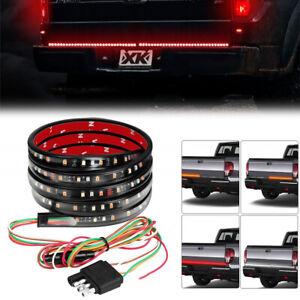 "60"" LED STRIP TAILGATE LIGHT BAR REVERSE BRAKE SIGNAL 3 Colors for Pickup Truck"