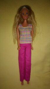 Vintage Barbie Steffi Love Simba Mode Puppe  +  Kleidung P242 Doll Dress