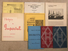 Lot Of 8 Heisey Glass Reference Guide Books Price Lists Crystal History