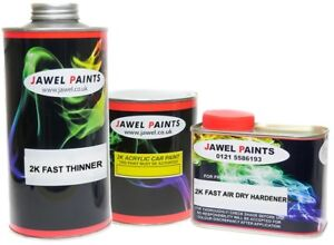 2k Acrylic Car Paint RAL 1019 GREY/BEIGE  2 Litre Kit Direct High Gloss