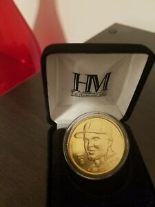 Roger Maris Coin Highland Mint HR Heroes 24K Gold Overlay--NY Yankees