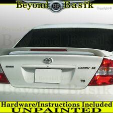 2002 2003 2004 2005 2006 Toyota Camry Factory Style Spoiler UNPAINTED w/LED