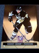 2011 Panini Elite Sidney Crosby Die Cut Auto Stamped 1/1 True Masterpiece #1/1 !