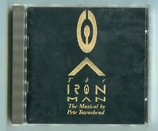 The Iron Man CD The Musical by Pete Townshend 1989 Nimbus Virgin UK 12-Track