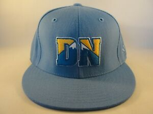 Denver Nuggets NBA Adidas Fitted Hat Cap Blue