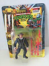 TEENAGE MUTANT NINJA TURTLES FIGURINE MOVIE III WALKER VINTAGE 1992 MOC TMNT
