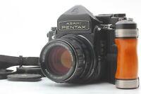 【OPT MINT】 Pentax 6x7 67 105mm f2.4 TTL Mirror Up Grip SMC Takumar from JAPAN