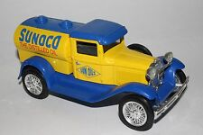 Liberty Classics Coin Bank, Ford Model A, Sunoco Sun Oils Tanker With Key
