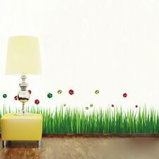 Grass Removable Wall Sticker Home Room Bathroom Decal Art Decoration DIY
