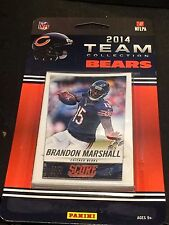 CHICAGO BEARS 2014 Score Football FACTORY SEALED Team 11 Card SET Blister PACK
