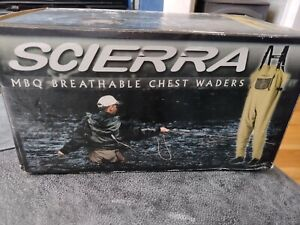 Scierra MBQ Chest Waders | Stocking Foot | Fly Fishing Waders ** NEW **