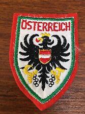 Old Vintage Osterreich Austria Patch - Austrian National Souvenir