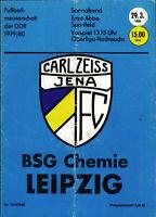 OL 79/80 FC Carl Zeiss Jena - BSG Chemie Leipzig, 29.03.1980