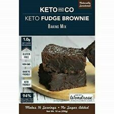 Keto and Co 10.2oz Brownie Mix - 16 Brownies