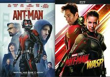 ANT-MAN + ANT-MAN THE WASP Complete Box Set 2-Discs. BRAND NEW. USA