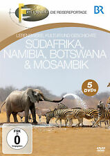 DVD South africa, Namibia, Botswana and Mozambique from Br Fernweh 5DVDs