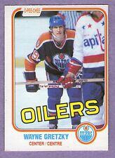 1981-82 OPC O-PEE-CHEE Single Wayne Gretzky Edmonton Oilers #106