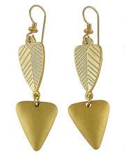 *NEW* ~ Laurel Burch BLESSINGS Gold & Ivory Earrings ~