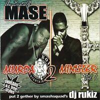DJ RUKIZ THE BEST OF MASE Harlem NYC Hip Hop Mixtape MIX CD Promo