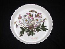 Portmeirion Botanic Garden 11 Inch Quiche Dish 11 Inch Christmas Rose
