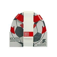 Universeller Ballhalter Rot/Weiß - Fahrrad Sportplatz Fußball kicken Spielen
