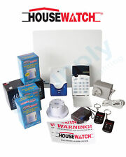 HOUSEWATCH CROW 8 ZONE DELUXE ALARM KIT WITH DIALLER 20-124