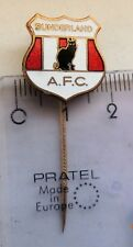 A.F.C. SUNDERLAND vintage badge crest pin anstecknadel football club