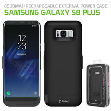 Galaxy S8 Plus for External Power Case Cover |6500mAh Rechargeable