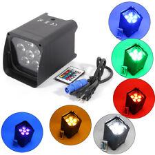 RGB 6LED Par Light Wireless Stage Wash Uplight DMX DJ Disco Party Wedding Light