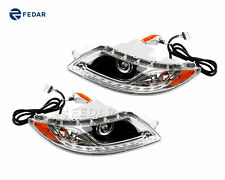 Headlights Side Marker Lens For International 4000 Series 8500 8600-Both Sides
