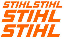 4 x STIHL STICKERS SET - CHAINSAW COMBI VAN WORKSHOP Logo Style