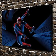 Marvel Comics Spider Man On Canvas Print Painting 16x24 Home Decor Art Wall