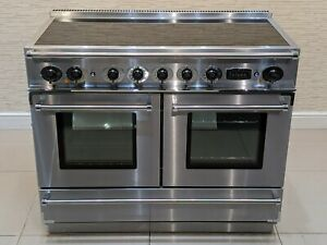 FALCON CONTINENTAL 110 INDUCTION RANGE COOKER IN STAINLESS STEEL  A679