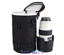 Camera Lens Protector Pouch Case Insert Bag Cover For Canon Sony Nikon Dslr Slr