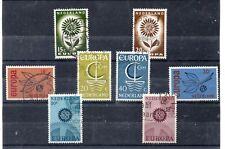 Holanda Europa CEPT series del año 1964-67 (DP-542)