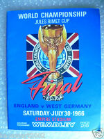 1966 World Cup Final Programme - ENGLAND v WEST GERMANY (Original*, Excellent*)