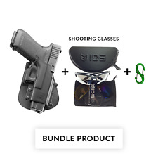 BUNDLE Fobus paddle retention holster for glock 21sf /29/30/30sf/39 and s&w 99