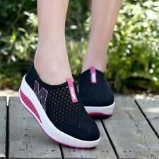 Fashion Women Mesh Platform Sneakers Trainers Sports Fitness Breathable Shoes B