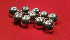 Lot de dix  boutons des mi-sphériques (21 mm )