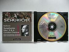 Schuricht conducts Beethoven Symphonies Nos 5 & 6 BPO Archipel 0091 CD
