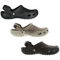 Crocs Yukon Sport Mens Leather Clogs Shoes