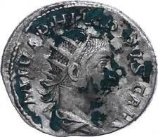 42725) Philippus II., 245-6, AR Antoninian, Rom, Sear 9240, ss/vz