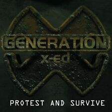 Generation X-ed CD Protest And Survive - Germany